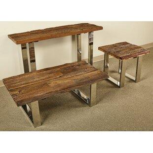Walden 3 Piece Coffee Table Set