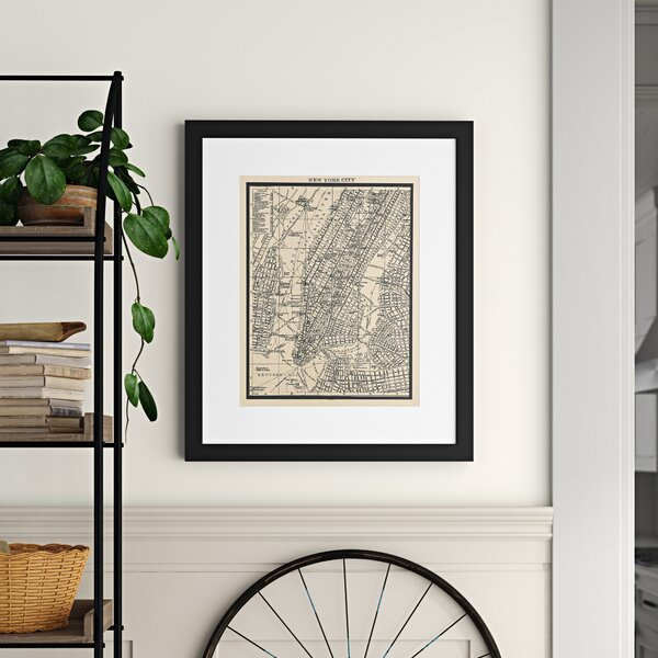 Vintage New York Wall Art Wayfair