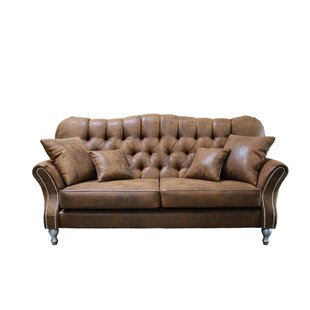 Sequoia 3 Seater Chesterfield Sofa By Williston Forge