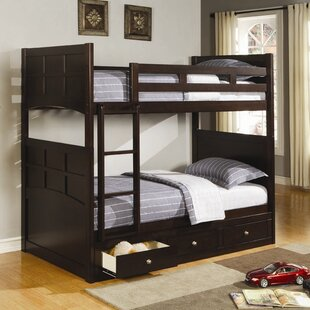 Twin Over Twin Bunk Bed by Wildon Home® Read Reviews