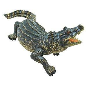The Agitated Alligator Swamp Gator Statue