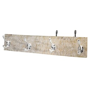 Yates Wall Mounted Coat Rack By World Menagerie