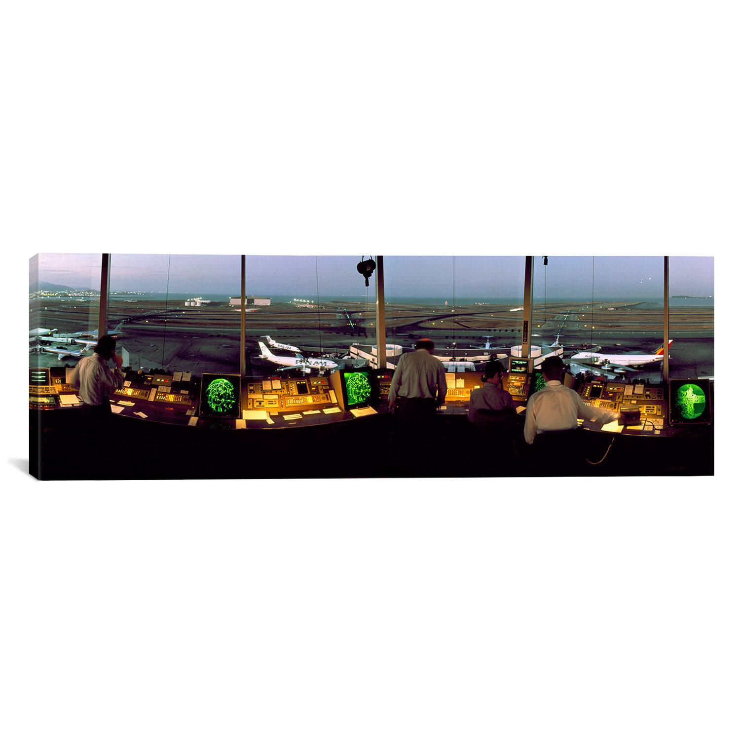 Discount San Francisco International Airport Control Tower San Francisco California Photographic Print On Canvas Furniture Online