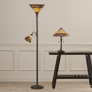 Astoria Grand Bellanger 2 Piece Table and Floor Lamp