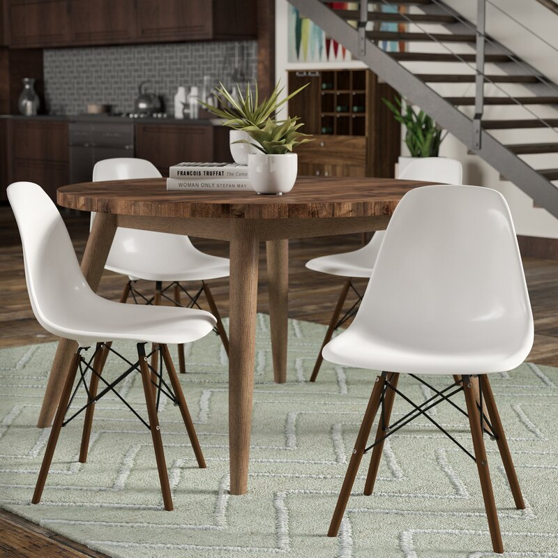 Harrison Matte Solid Wood Dining Chair