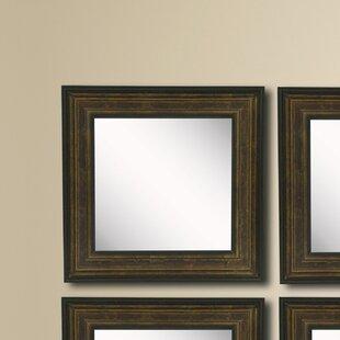 Charlton Home Kimzey Wall Mirror (Set of 4)