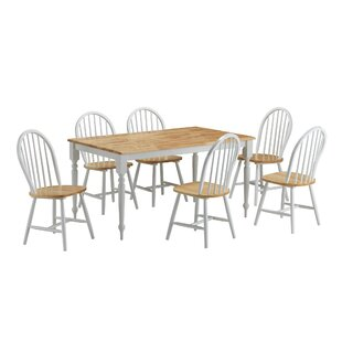 Bella 7 Piece Dining Set August Grove