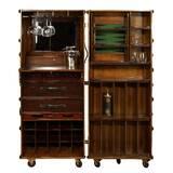 Sheldon Bar with Wine Storage by Bayou Breeze