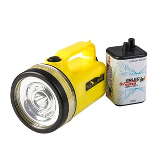 Pisano Yellow Battery Powered LED Outdoor Flashlight By Sol 72 Outdoor