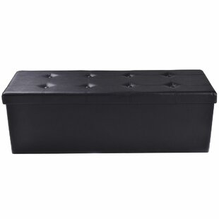 Luyster Tufted Storage Ottoman..