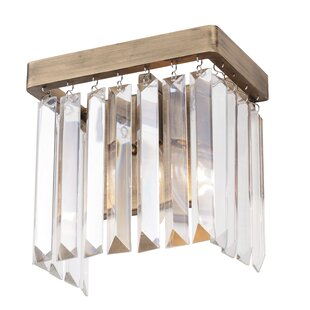 Killingworth 1-Light Bath Sconce by Everly Quinn
