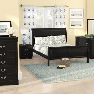 Alcott Hill Larrabee Queen Sleigh 5 Piece Bedroom Set