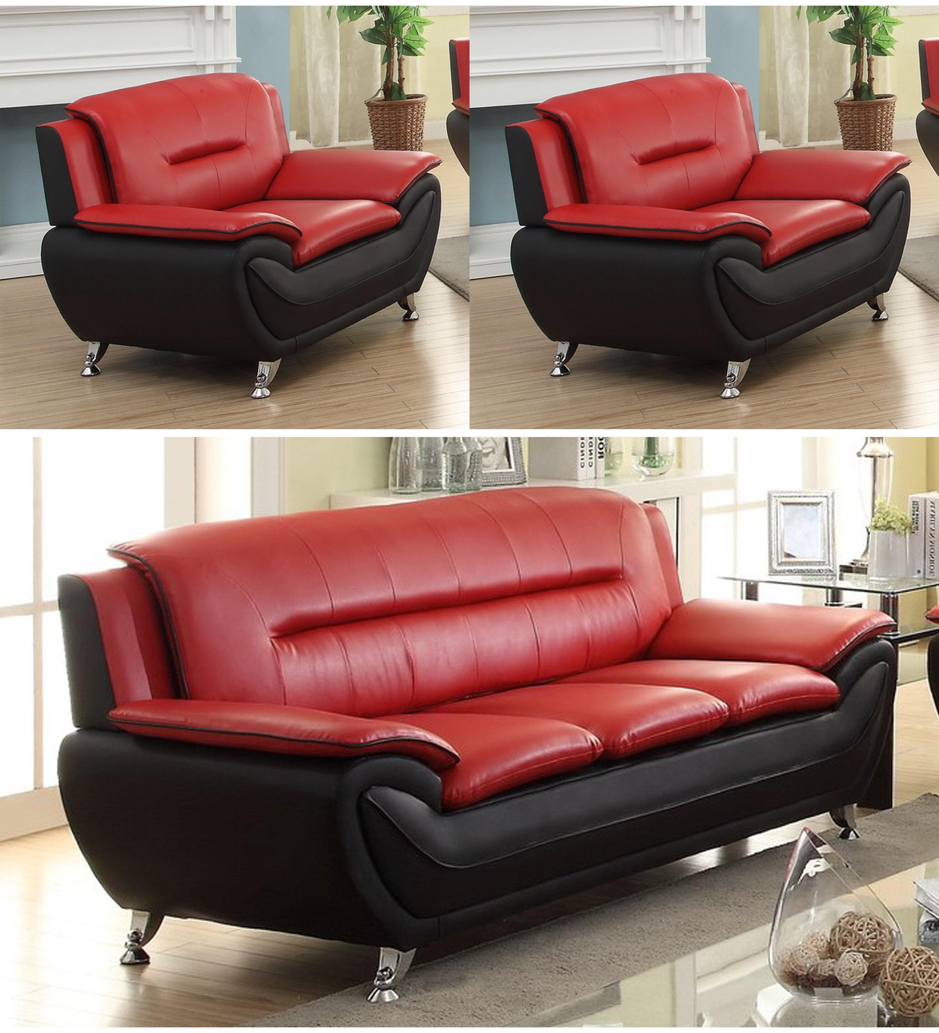 Orren Ellis Gatto3 Piece Standard Living Room Set Reviews Wayfair Ca