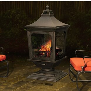 Sunjoy Beacon Steel Wood Burning Pagoda