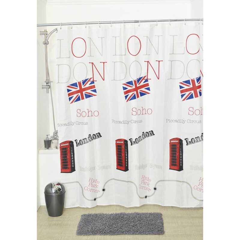 So British Shower Curtain