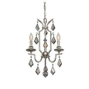 House of Hampton McConaughey 3-Light Candle Style Chandelier