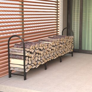 Double Frame Heavy Deluxe Duty Firewood Log Rack By Regal Flame