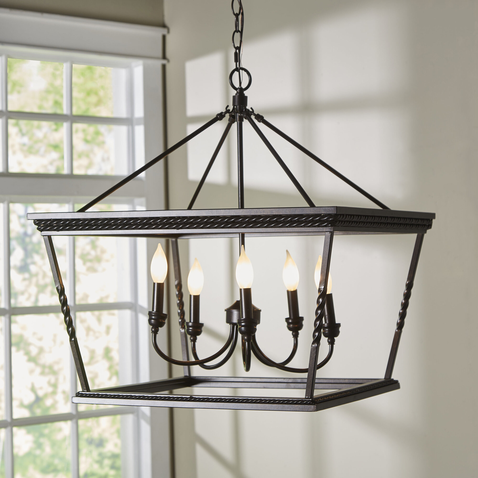 Hartwell 5 Light Lantern Pendant