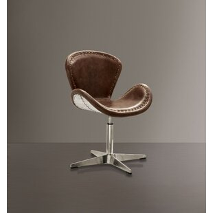 Lindbergh Swivel Armchair by 17 Stories