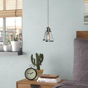 Belmont 1-Light Bell Pendant by Trent Austin Design