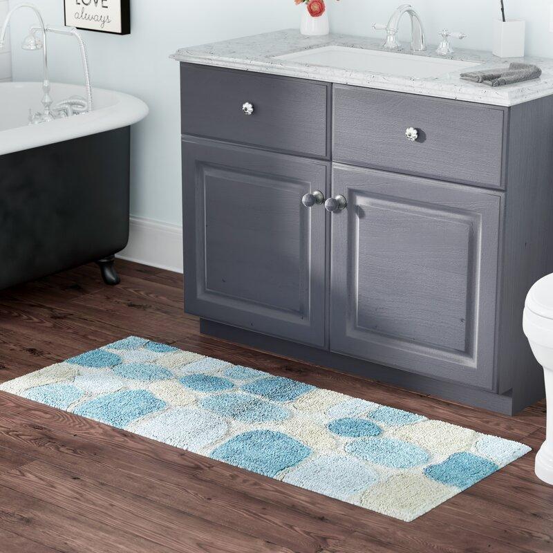 Ebern Designs Creline Bath Rug Reviews Wayfair