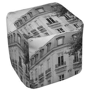 A Travers Paris Pouf by Ma..