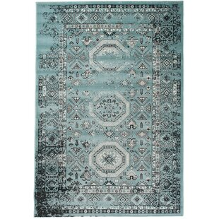 Aalst Green Rug by World Menagerie