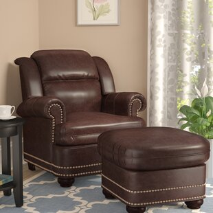 Fawnridge Armchair and Ottoman by Darby Home Co