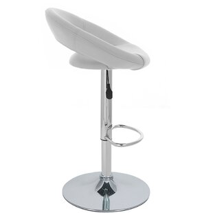 Rho Adjustable Height Swivel Bar Stool (Set of 2) by Vandue Corporation