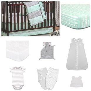 Savings Essentials 11 Piece Crib Bedding Set ByThe Peanut Shell