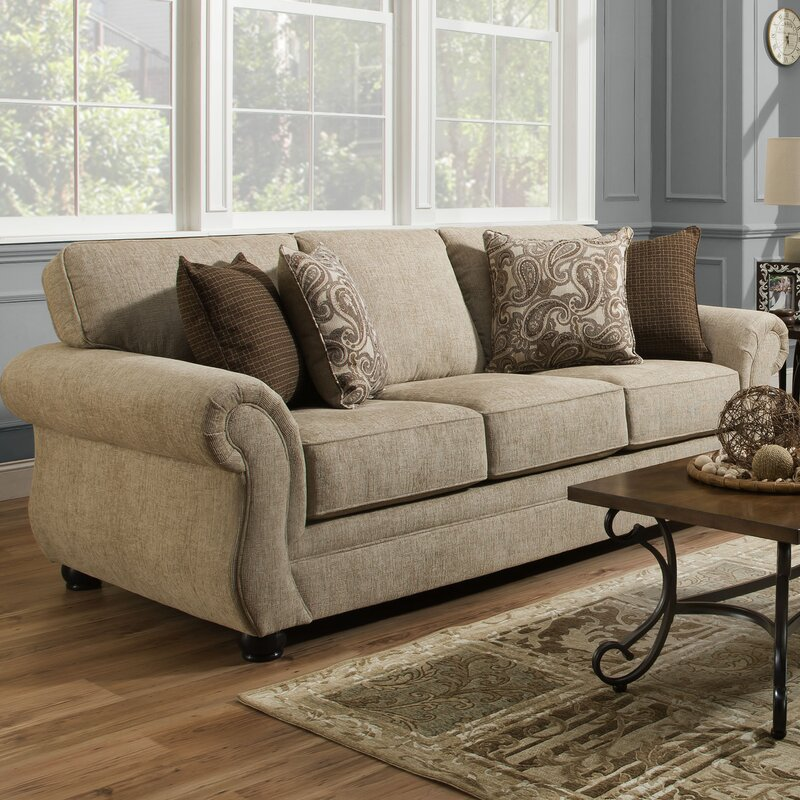 Good Simmons Vicki Parchment Queen Sleeper Sofa