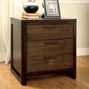 Hokku Designs Clanton 2 Drawer Nightstand
