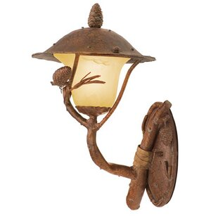 Ponderosa 1-Light Outdoor Sconce by Kalco