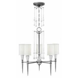 Hinkley Lighting Bentley 5-Light Shaded Chandelier