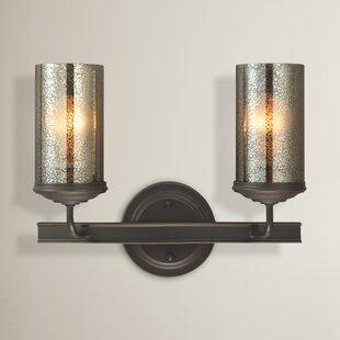 Mills Traditional 2-Light Vanity Light by Laurel Foundry Modern Farmhouse