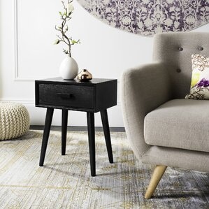 chair end table. creel end table with storage chair