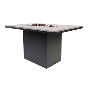 Imala Aluminium Propane Gas Fire Pit Table By Sol 72 Outdoor