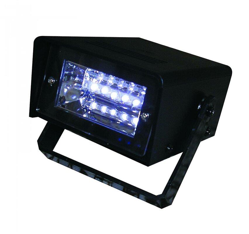 Creative Motion BatteryOperated LED Strobe Light Reviews Wayfair - Strobe lights for bedroom