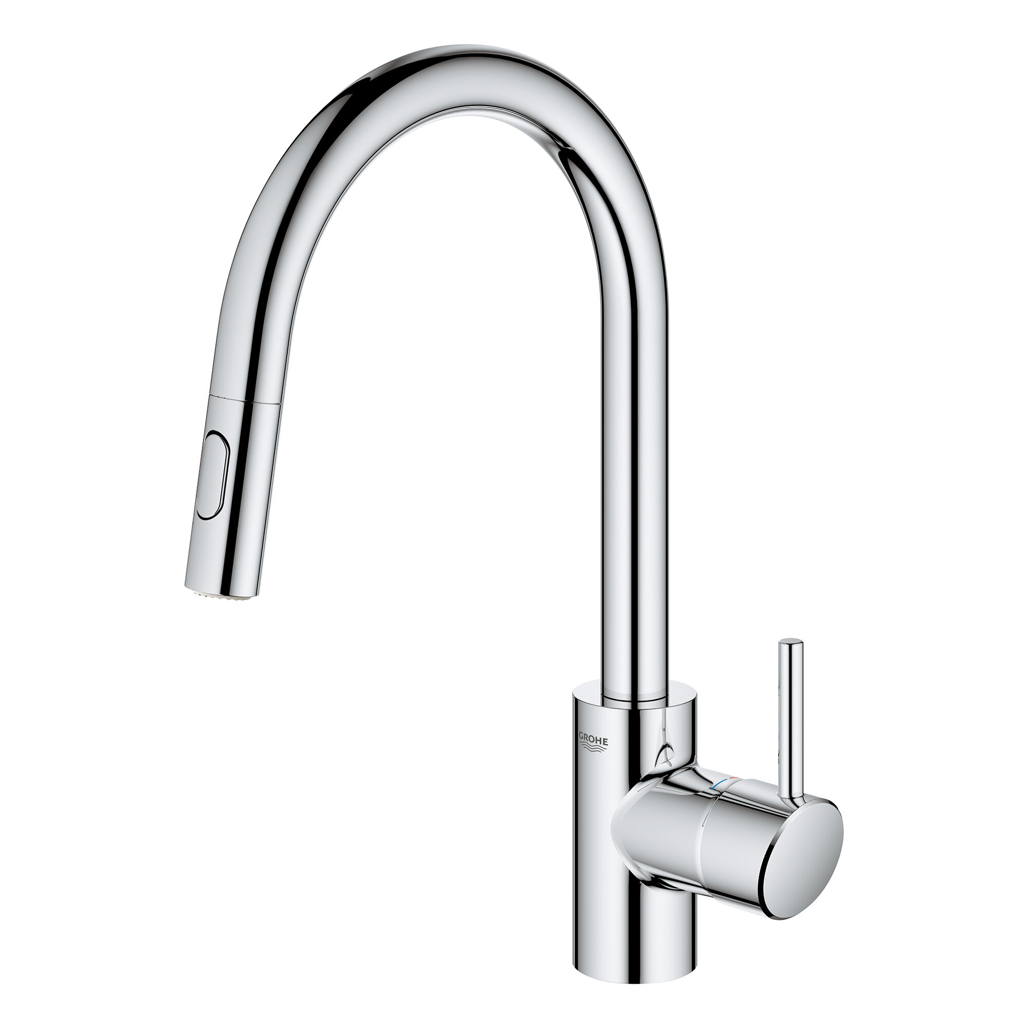 Grohe Concetto Pull Out Single Handle Kitchen Faucet Wayfair