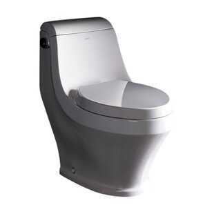 Ariel Bath Adonis 1.6 GPF Elongated One-Piece Toilet (Seat Included)