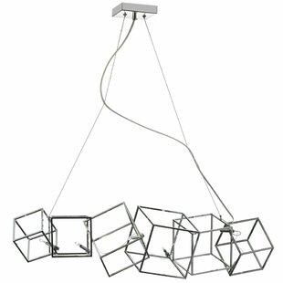 Best Cubo 6-Light Geometric Pendant By Radionic Hi Tech