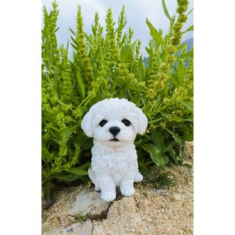 Hi Line Gift Ltd Maltese Puppy Statue Reviews Wayfair
