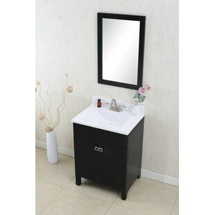 Quickview Andover Mills Lebaum 24 Single Bathroom Vanity Set