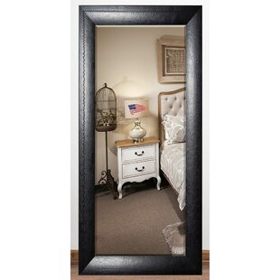 Top Reviews South Lamar Stitched Leather Beveled Wall Mirror By Darby Home Co