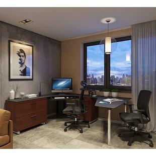 BDI Sequel L-Shaped Computer Desk