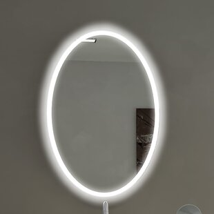 Paris Mirror Oval Backlit Bathroom/Vanity Wall Mirror