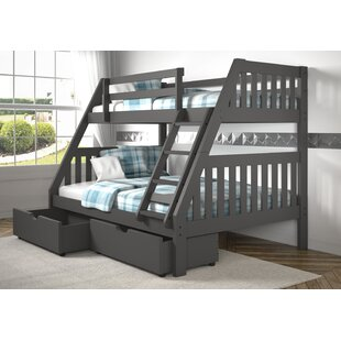 Price comparison Dubbo Bunk Twin Over Full Bed by Harriet Bee Reviews (2019) & Buyer's Guide