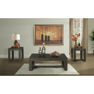 Muscogee Occasional 3 Piece Coffee Table Set