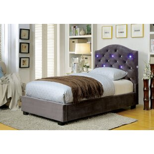 Soham Upholstered Panel Bed