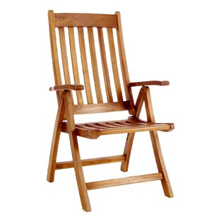 Humphrey Folding Teak Patio Dining Chair